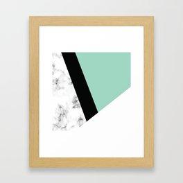 Marble III 011 Framed Art Print