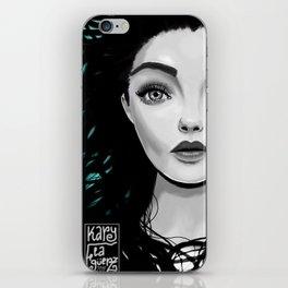 Misterio Femenino iPhone Skin