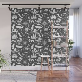 High Seas Adventure // Charcoal Wall Mural