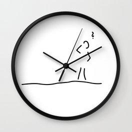 Alzheimer dementia Wall Clock