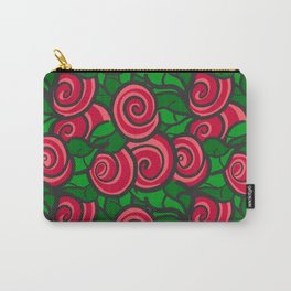 All red roses Carry-All Pouch