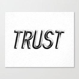 Trust (3/3) Canvas Print