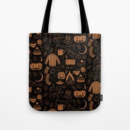 Autumn Nights: Halloween Tote Bag
