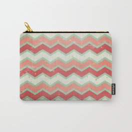 Christmas Chevron Carry-All Pouch