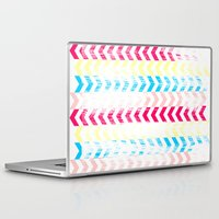 arrow Laptop & iPad Skins featuring Arrow by Louise Machado