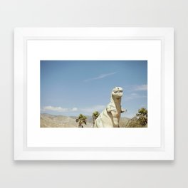 Cabazon Dinosaur Framed Art Print