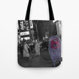 Unseen Monsters of New York - Guffaw Kismet Tote Bag