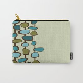 Mid Century Modern Baubles (teal) Carry-All Pouch