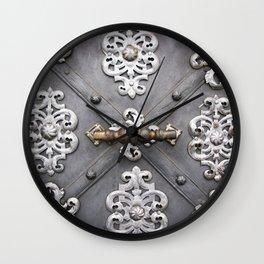 Door I Wall Clock