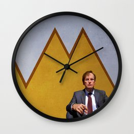 Jimmy (Slipping) Wall Clock