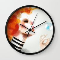 pin up Wall Clocks featuring Pin by Dnzsea