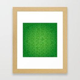 irish, ireland, shamrock, irish gifts women, luck of the irish, irish gift, three leaf clover Framed Art Print