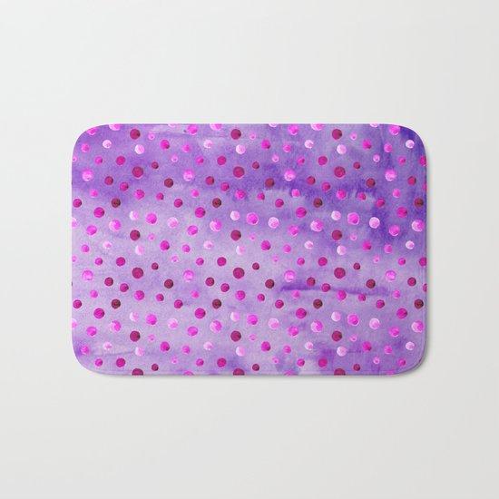 Polka Dot Pattern 02 Bath Mat