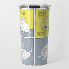 How to Stop a Cat from Stealing Food Travel Mug
