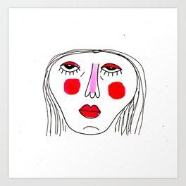 V Cute Art Print