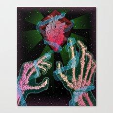 Cosmic Necromancer Canvas Print