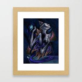 """Ladder to A Dream"" Framed Art Print"