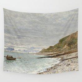 La Pointe de la Hève, Sainte-Adresse by Claude Monet Wall Tapestry
