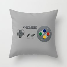 Classic Nintendo Controller Throw Pillow