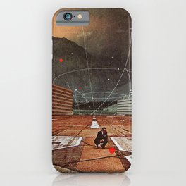 Tracing your Steps iPhone Case