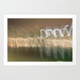Bright Lights, Big City V Art Print