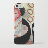 newspaper iPhone & iPod Cases featuring Abstract Newspaper by bmp528