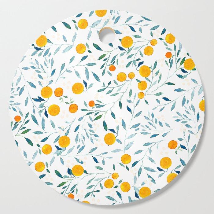 Orange Tree Cutting Board