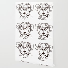 The Boxer Dog Love of my Life Wallpaper