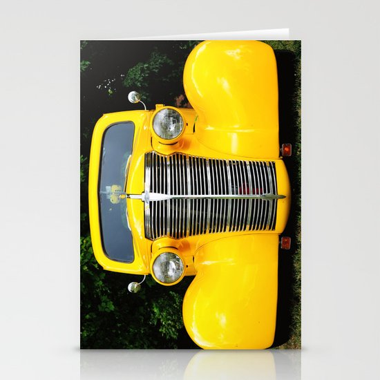 Yellow Chevy Stationery Cards