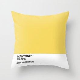 MANTONE® Bropropriation Throw Pillow