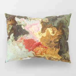 Vibrant Marble Texture no10 Pillow Sham