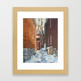 Leah's Alley  Framed Art Print