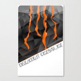 Breakbeat Pressure Canvas Print