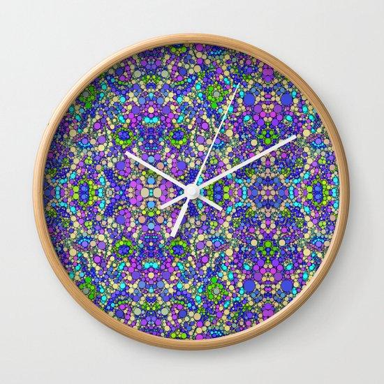 Blueberries! Wall Clock