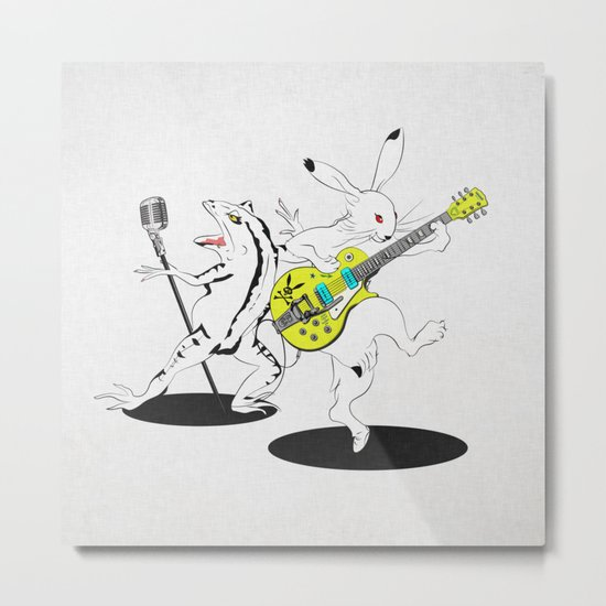 Music to Jump -鳥獣GIGA2015- Metal Print
