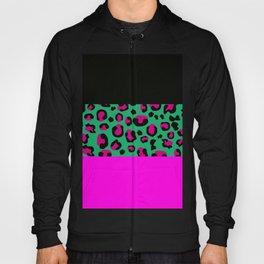 Urban Jungle - Leopard Pattern Pink Hoody