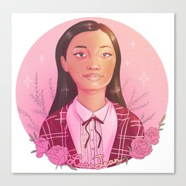Lara Jean Canvas Print