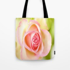 Lovely delicate pink rose Tote Bag
