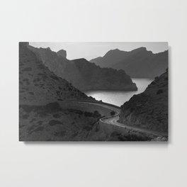 Road to Cap de Formentor Metal Print