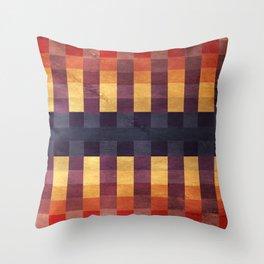 Eccentric Squared Throw Pillow