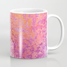 Abstract Splatter in Sunset Coffee Mug