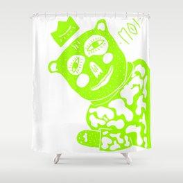 MOI - king bear Shower Curtain