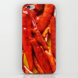 Chili peppers iPhone Skin