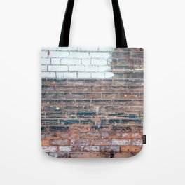 Painted Bricks Tote Bag