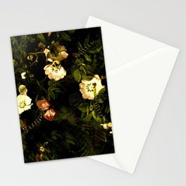 Floral Night III Stationery Cards