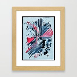 The Pain of Sorrow Framed Art Print