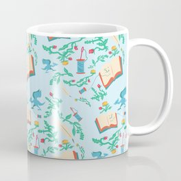 Storyteller Light Blue Coffee Mug