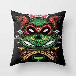 Dia De Los Mutantes Raphael Throw Pillow