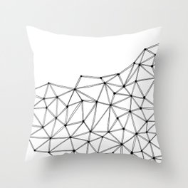Polygon Throw Pillow