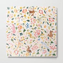 Flora and fauna Metal Print
